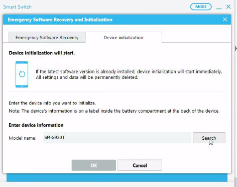 How to use Samsung Smart Switch for Firmware Restore Samsung devices
